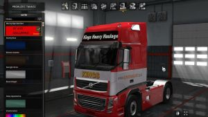Volvo 2009 Kings Heavy Haulage [1.30]