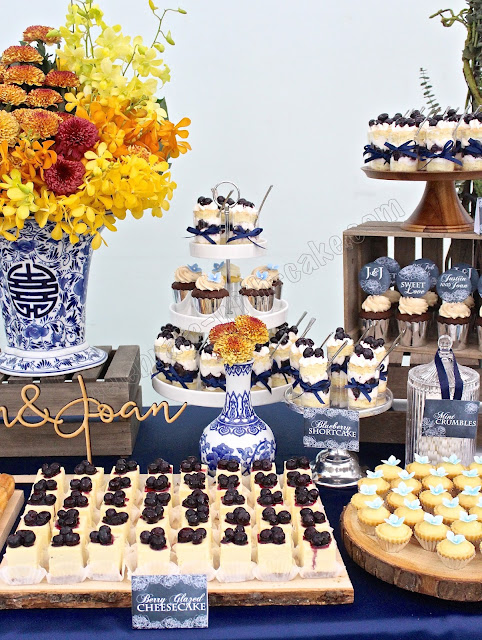 Chinese Porcelain Themed Wedding Dessert Table Click Post -3311