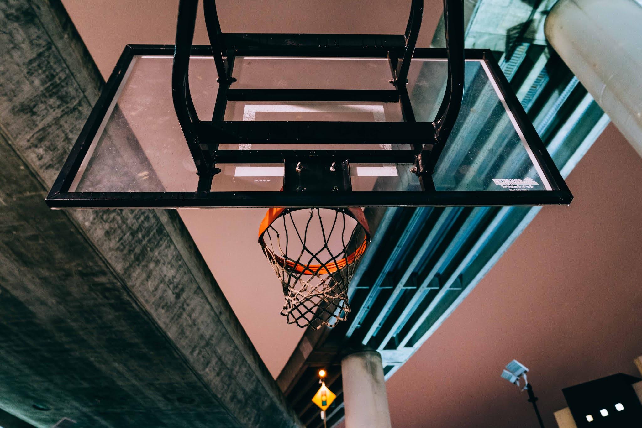 cara memasang ring basket dinding
