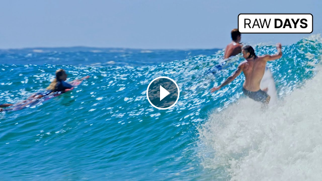 RAW DAYS Snapper Rocks Australia Top CT Surfers and Locals on the Best Waves