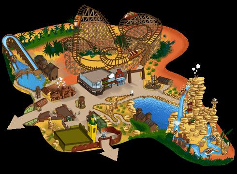 Mapa Old West