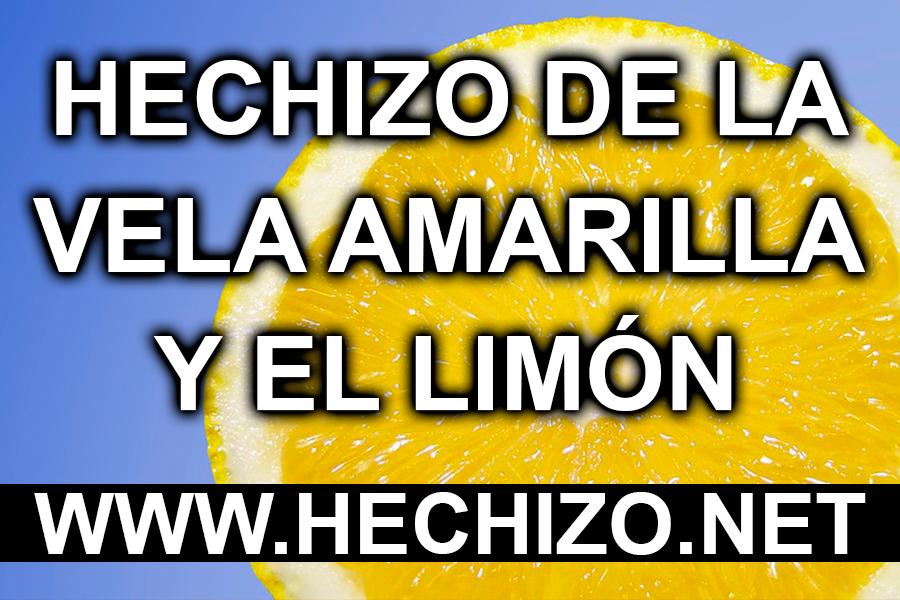 Hechizo de la Vela Amarilla y el Limón