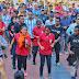 Aksi Solidaritas Surabaya dan Papua Bersaudara di CFD Taman Bungkul Wujud Toleransi Antar Etnis