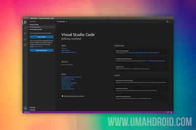 Install Visual Studio Code di Ubuntu