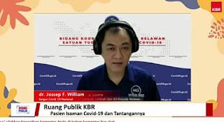 dr. Jossep F. Willian Kasubdit Satgas Covid-19 Nasional