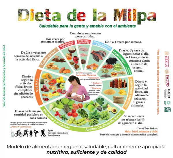 dieta de la milpa ejemplo