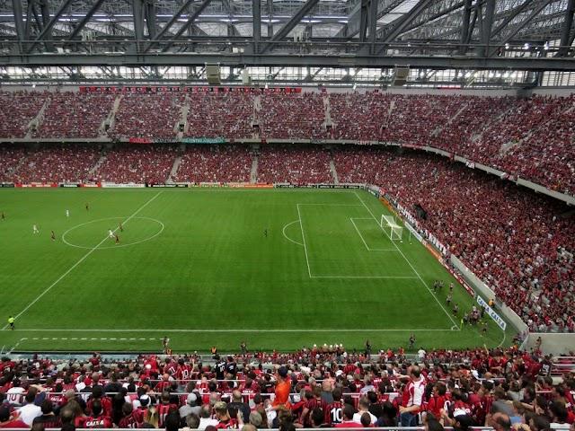 Após mudança de nome e escudo, Atlético-PR faz a final da Copa Sul-Americana contra o Júnior Barranquilla
