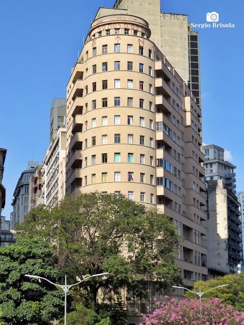 Vista ampla do Edifício Riachuelo - Sé - São Paulo