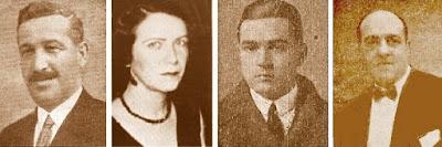 Àngel Molero, Sofía Ruíz, Francesc d'Asís Carreras y Antoni Santasusagna