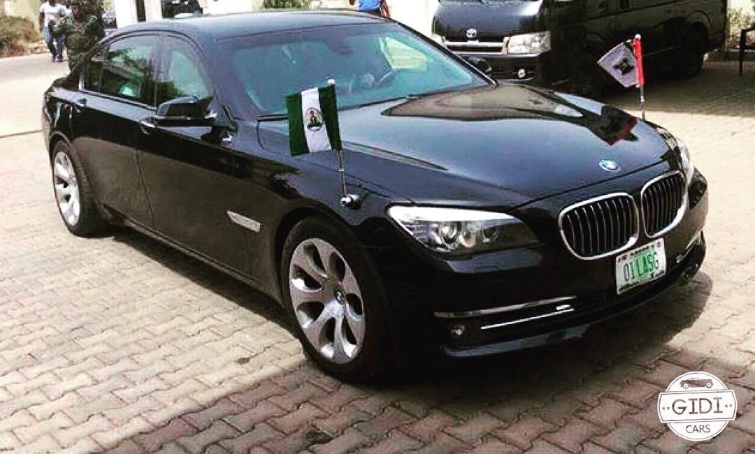 Armored Bmw 760li The Official Beast Car Of Lagos State Governor