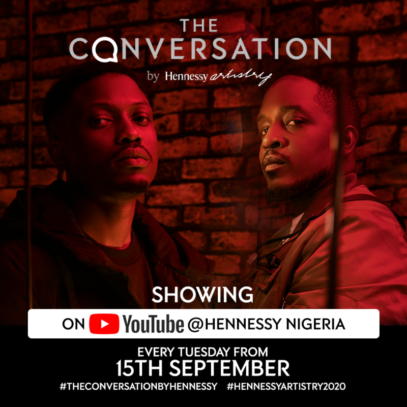 Hennessy Artistry presents 'The Conversation' featuring M.I & Vector Tha Viper #Arewapublisize