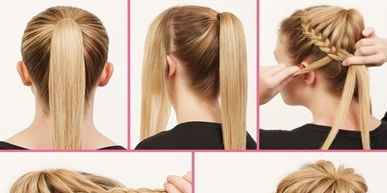 Fantastic Low Braided Bun Hairstyle Tutorial Beauty Health Travel And Hairstyle Inspiration Daily Dogsangcom