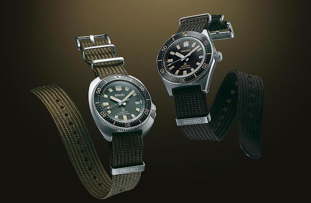 Seiko Prospex 1965 and 1970 Diver's SPB239 and SPB237