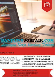 Lowongan Kerja Bandung Terbaru di PT. Victory International Juni 2019
