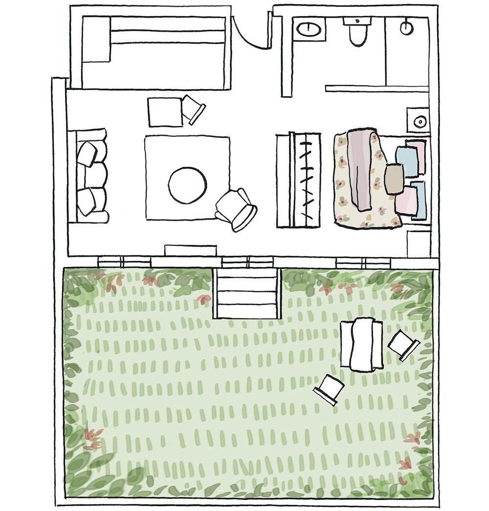 Cómo dibujar el plano a escala de una habitación_9