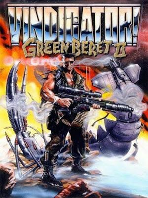 Portada videojuego The Vindicator - Green Beret II