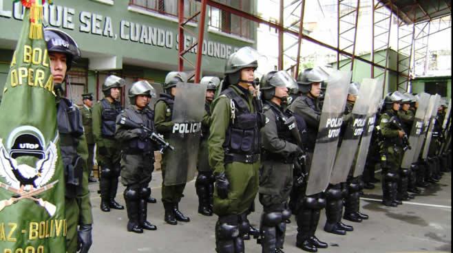 Ministro de Gobierno afirma que la Policía goza de la simpatía y reconocimiento de la población