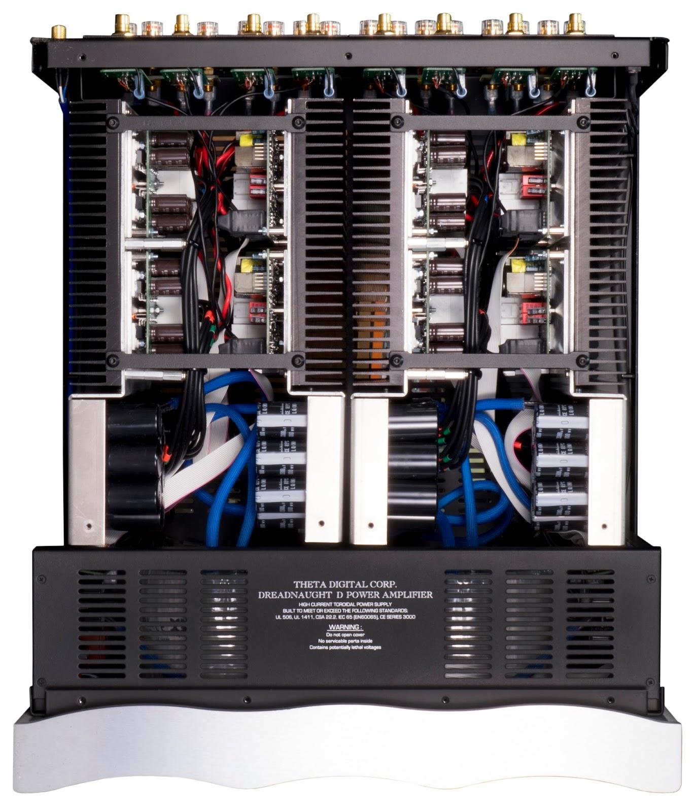 Theta Digital Announces Modular Dreadaught D Class D