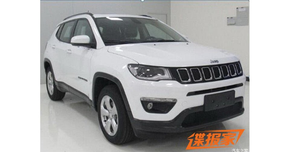 New 2017 Jeep Compass Leaked Again, This Time In China