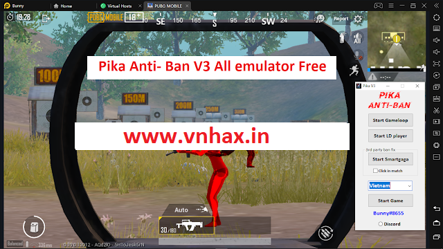 Anti-Ban PUBG Mobile0.19.0 - Pika Anti-ban All emulator