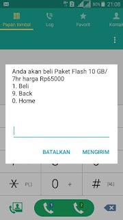 Paket internet murah memang sangat banyak di incar oleh netizen Cara mengaktifkan paket internet Flash Telkomsel Murah 10Gb Harga Rp.65000