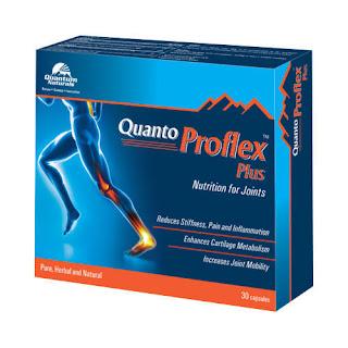Quanto Proflex Plus - Suplemen Herbal Anti Nyeri Untuk Pelari
