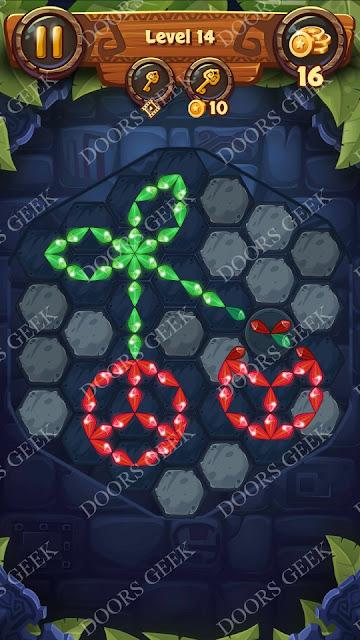 Gems & Magic [Titanium] Level 14 Solution, Walkthrough, Cheats