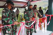 Pangdam XVII/Cendrawasih Serahkan Rumah Dinas Kesehatan ke Pemda Kabupaten Intan Jaya dan Resmikan Lapangan Tembak Yonif 753/AVT
