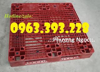 Pallet nhựa đã qua sử dụng, pallet nhựa kê hàng hóa