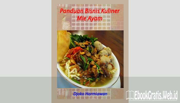 Ebook Panduan Bisnis Kuliner Mie Ayam