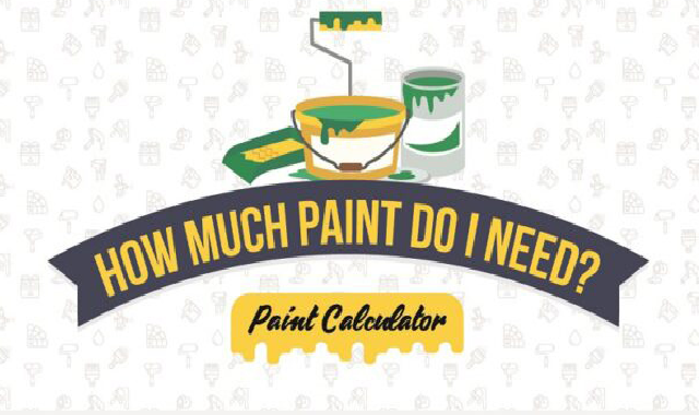 How Much Paint Do I Need? #ifographic