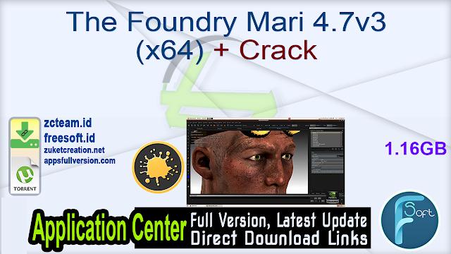 The Foundry Mari 4.7v3 (x64) + Crack_ ZcTeam.id
