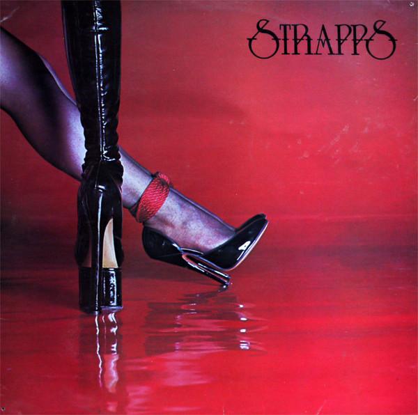 """Strapps """"Strapps"""" 1976 debut album + """"Secret Damage"""" 1977 second album UK  Hard Rock,Glam Rock"""