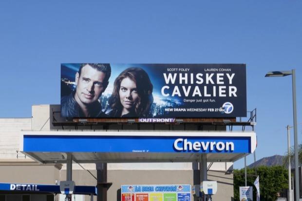 Whiskey Chavalier series launch billboard