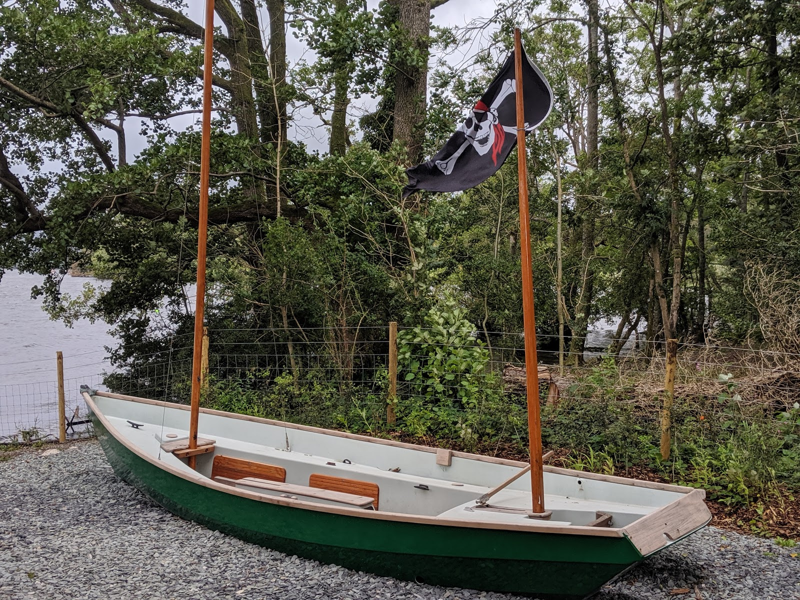 13 Reasons to Visit Windermere Jetty with Kids - pirate ship by lake