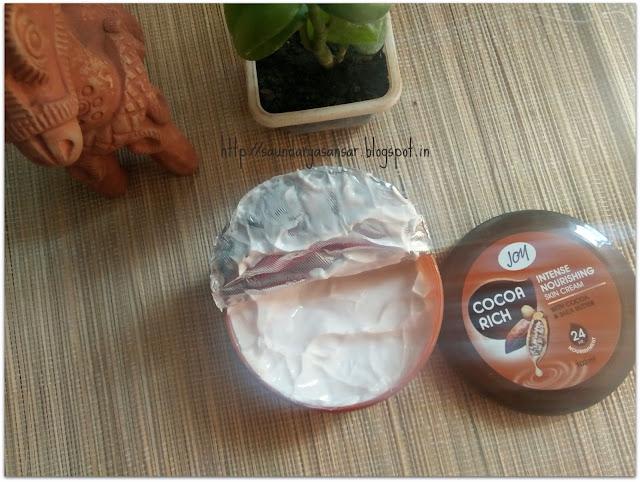 Joy Cocoa Rich Intense Nourishing Skin Cream Review