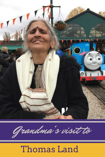 Grandma's visit to Thomas Land