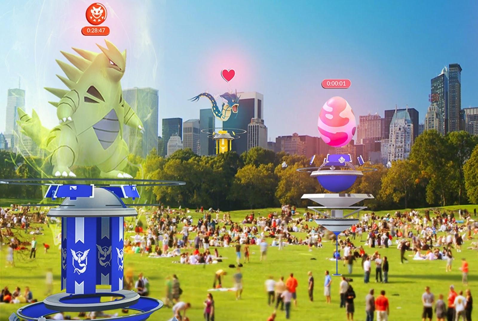 Como Pokémon GO (Mobile) revive o bom e velho multiplayer local
