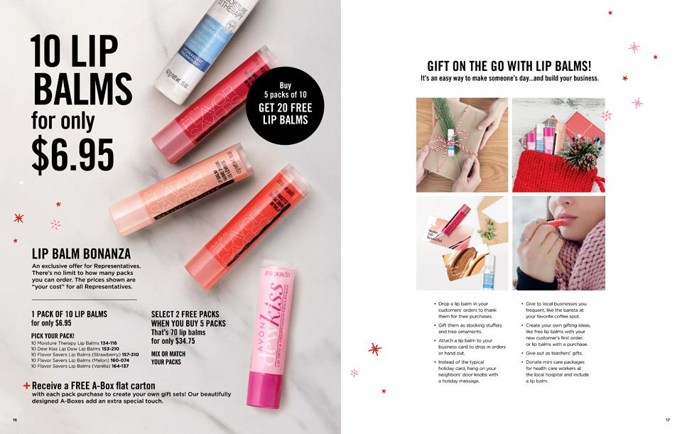 10 LIP BALMS FOR ONLY $6.95