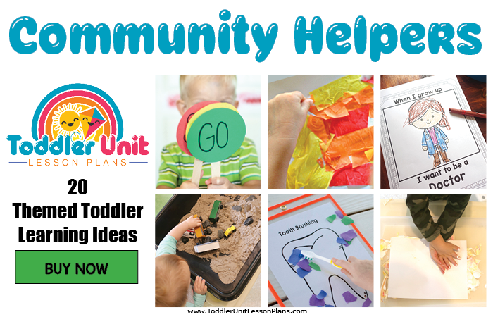 Toddler lesson plans - community helpers