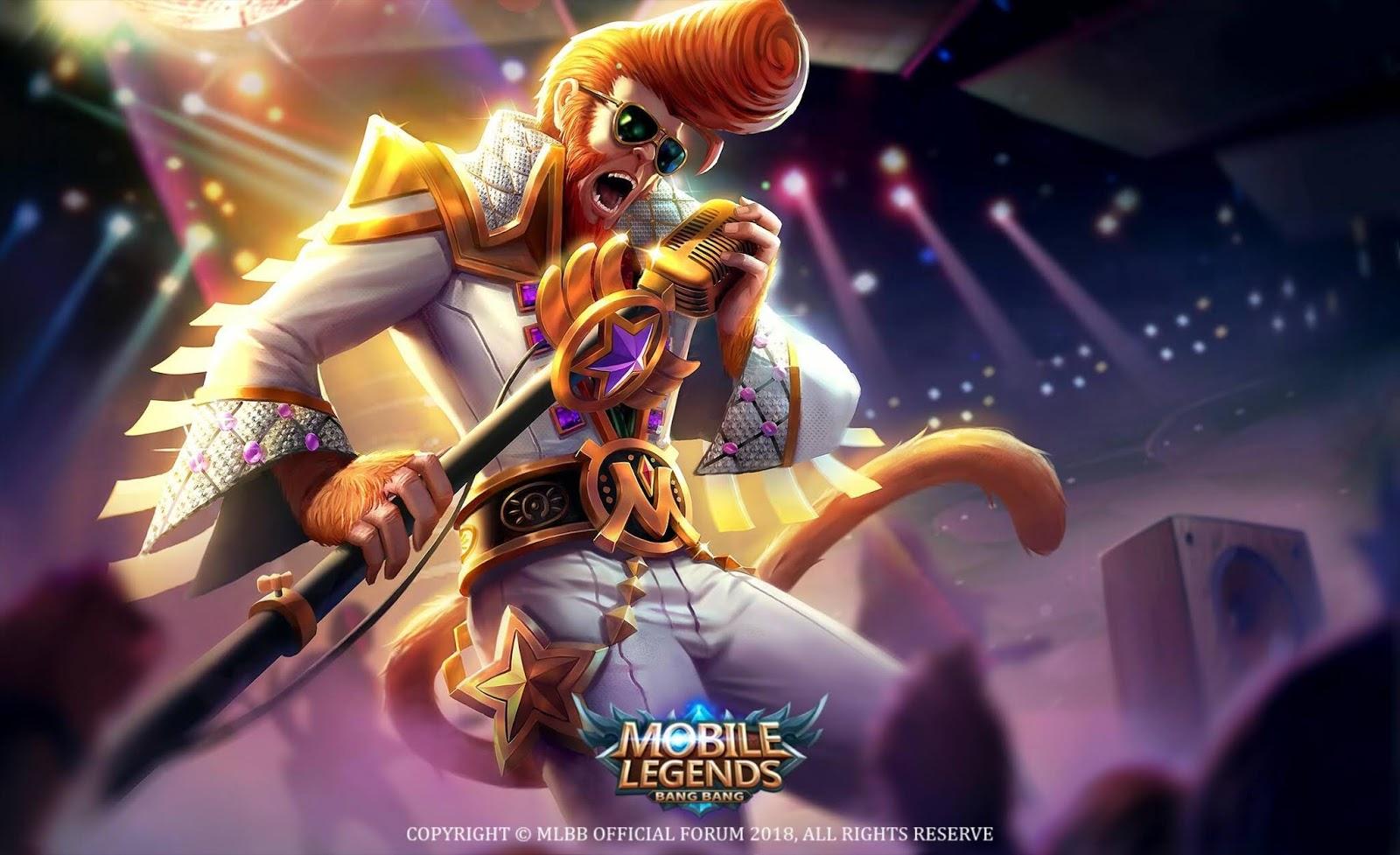 Wallpaper Sun Rock Star Skin Mobile Legends Full HD for PC
