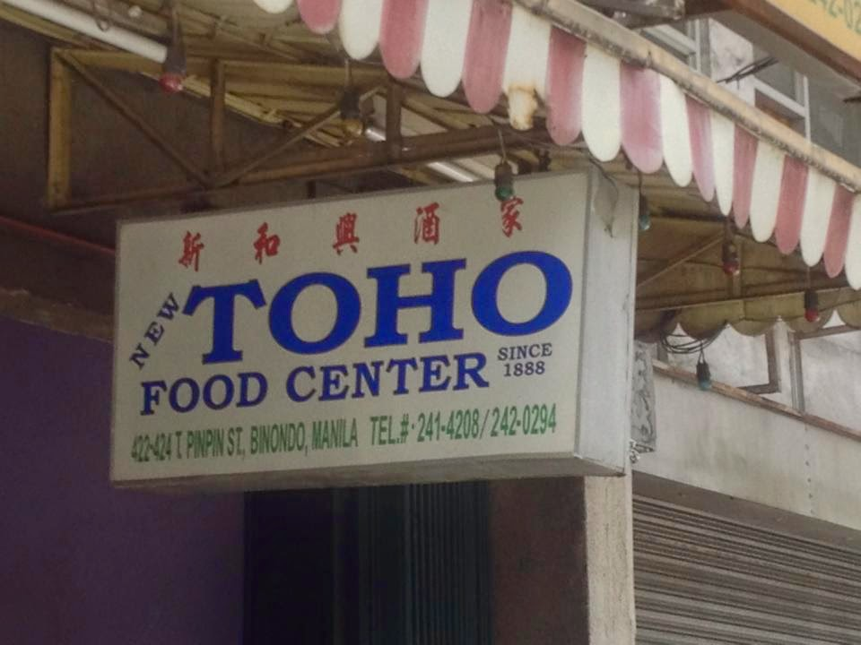 toho food center binondo manila