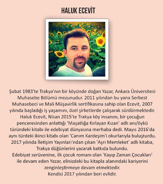 Yazar Haluk Ecevit