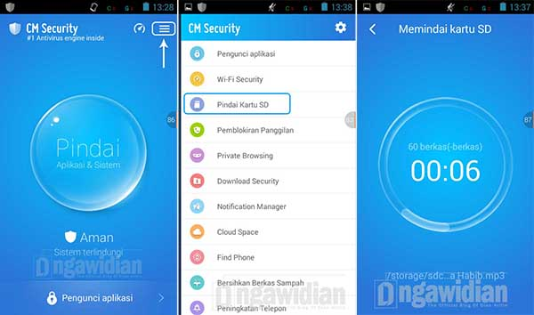 Menghapus Virus dі SD Card Android