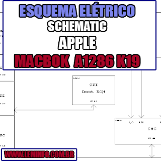 Esquema Elétrico Manual de Serviço Notebook Laptop Placa Mãe Apple MacBook Pro A1286 K19 Schematic Service Manual Diagram Laptop Motherboard Apple MacBook Pro A1286 K19 Esquematico Manual de Servicio Diagrama Electrico Portátil Placa Madre Apple MacBook Pro A1286 K19