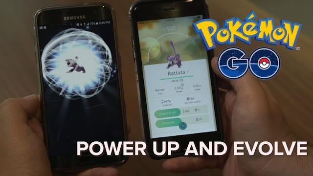 Tips Memilih Evolusi Atau Power Up  Pada Game Pokemon Go