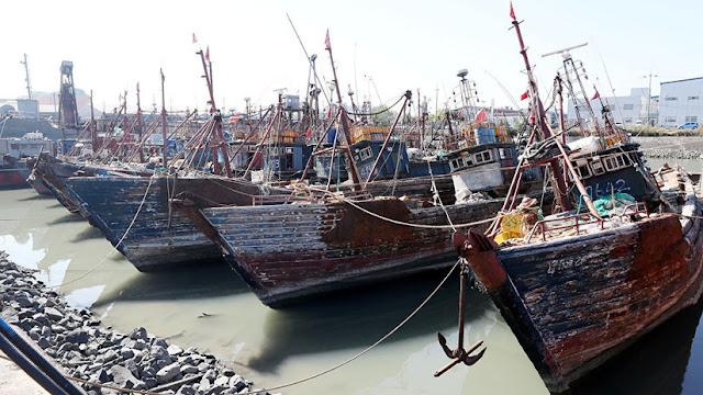 Corea del Sur realiza 200 disparos de advertencia a una flota pesquera de China