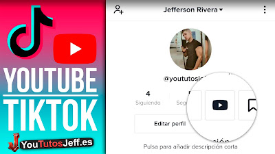 Como Poner mi Canal de Youtube en TikTok