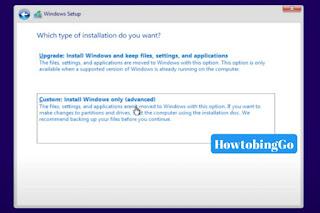 choose-custom-install-windows-10