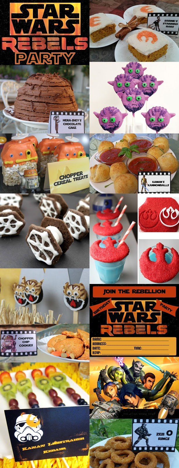 The Best Star Wars Rebels Party Ideas, Recipes, and Printables